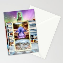 Battle Cat Galactica Stationery Cards