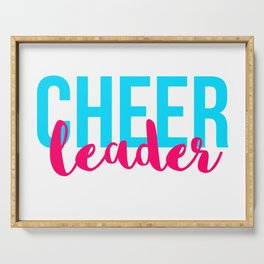 Cheer Leader Serving Tray
