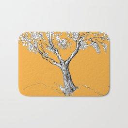 Tree and parrot Bath Mat