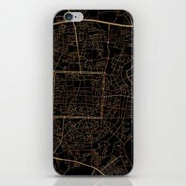 Chiang Mai map, Thailand iPhone Skin