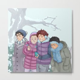 Seijoh Winter Tale Metal Print