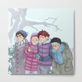 Seijoh Winter Tale Metal Print