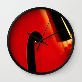 Guitar f Hole Wall Clock