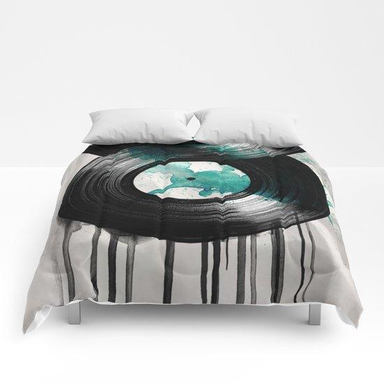 infinity vinyl Comforters