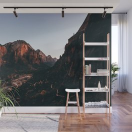 Trails of Zion Sunset Wall Mural