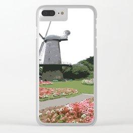 Dutch Windmill - Golden Gate Park Clear iPhone Case