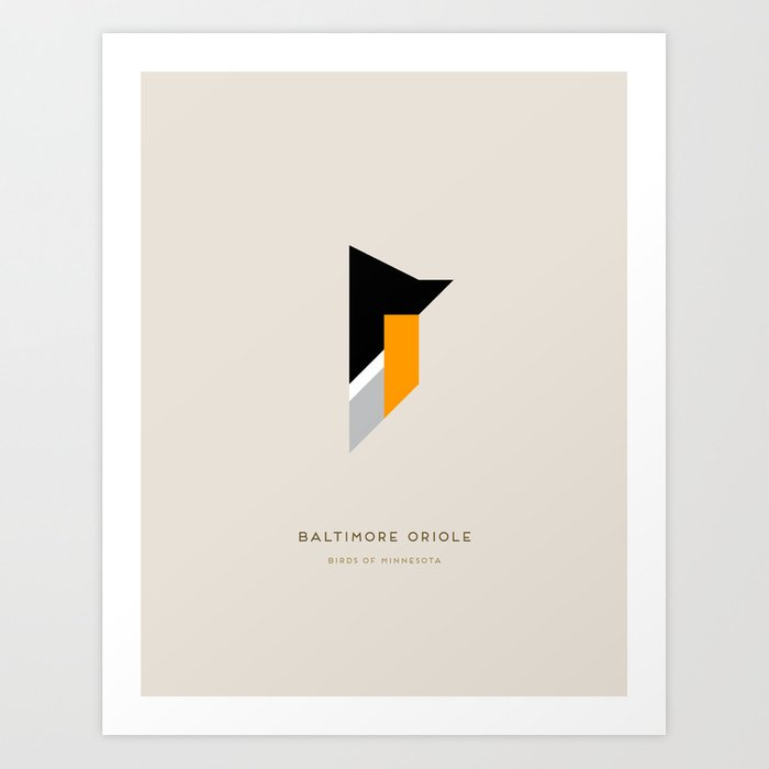 Baltimore Oriole Art Print