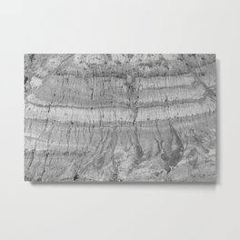 Drumheller Badlands Metal Print