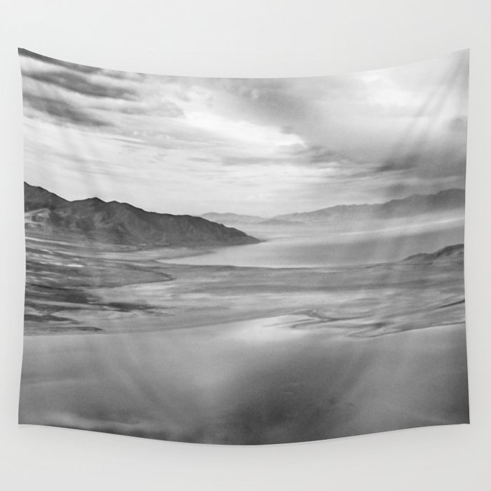 Clouds Over Utah Wall Tapestry