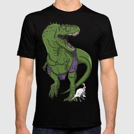 Hulkasaurus Rex - Superhero Dinosaurs Series T-shirt