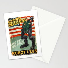 Franklin D. Roosevelt and his Amazing Robot Legs.... Stationery Cards