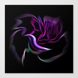 Flowermagic - Rose Canvas Print
