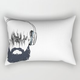 A Mans Sound  Rectangular Pillow