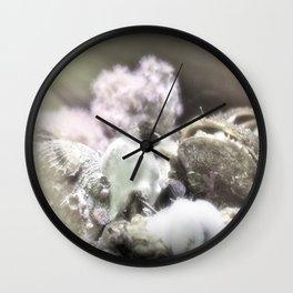 Jewels On The Ocean Floor Wall Clock