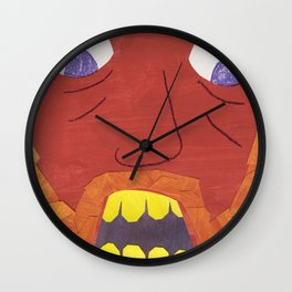 There was an Old Man with a Beard, Who said, 'It is just as i feared! Wall Clock
