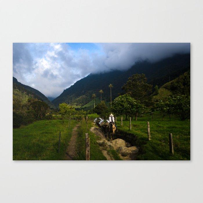 Valle de Cocora Canvas Print