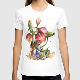 Pink Lotuses T-shirt
