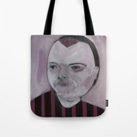 girly Tote Bags featuring Girly by Embla Øverbye