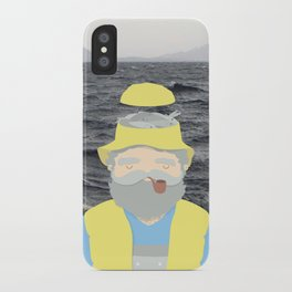 f i s h e r m a n iPhone Case