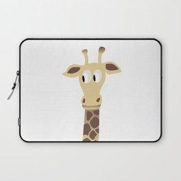Giraffe in a Car Laptop Sleeve