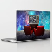 tv Laptop & iPad Skins featuring Television by Cs025