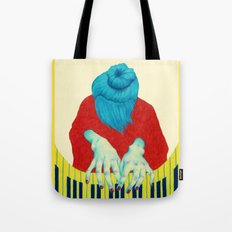 Piano Passion Tote Bag