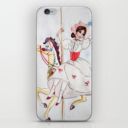 Mary Poppins Carousel iPhone Skin