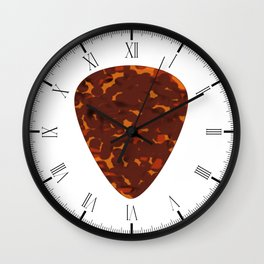 Plectrum Wall Clock