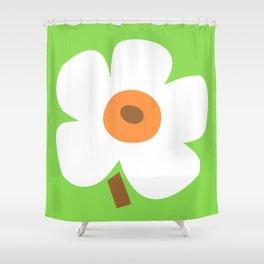 Golden Poppy Shower Curtain
