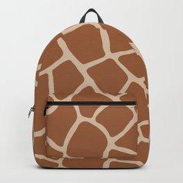Giraffe skin print Backpack