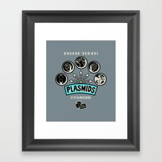 Plasmids Framed Art Print