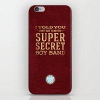 tony stark iPhone & iPod Skins featuring Tony Stark by Bonnie Detwiller