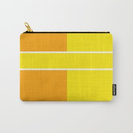 Team Colors 6...yellow,orange Carry-All Pouch