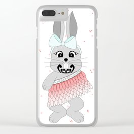 Miss Rapeti (peachy perfect) Clear iPhone Case