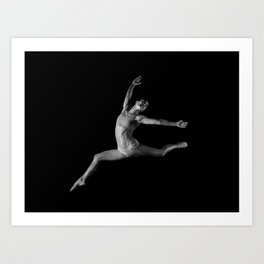 Ballet #4 Art Print