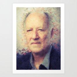 Werner Herzog Art Print
