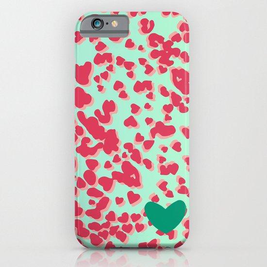 Animal Print Pink iPhone & iPod Case