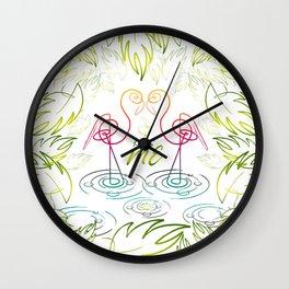 KissMe Wall Clock