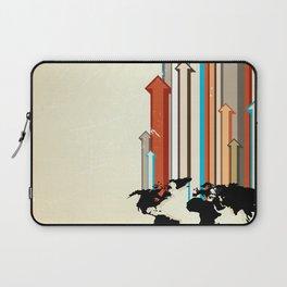 "Glue Network Print Series ""Economic Development"" Laptop Sleeve"