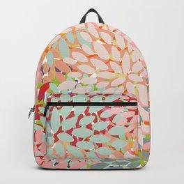 Floral Pattern, Colorful, Summer, Spring, Zest Backpack