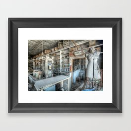 The General Store, Bodie Ghost Town Framed Art Print