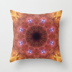 Space Mandala No14 Throw Pillow