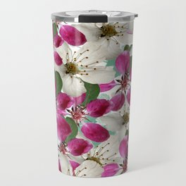 Spring Blossoms Abstract  Travel Mug