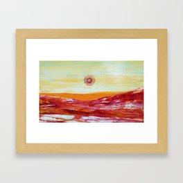 Love. Here I am! Framed Art Print
