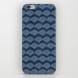 Wabi Sabi Arches in Blue iPhone Skin
