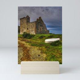 Lochranza Castle, Isle of Arran, Scotland Mini Art Print