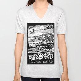 Mother Earth / Madre Tierra Unisex V-Neck