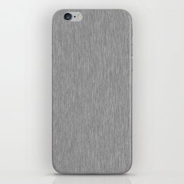 Grey Fibre iPhone Skin