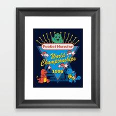 World Championship Framed Art Print