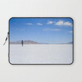 BONNEVILLE SALT FLATS, UTAH Laptop Sleeve